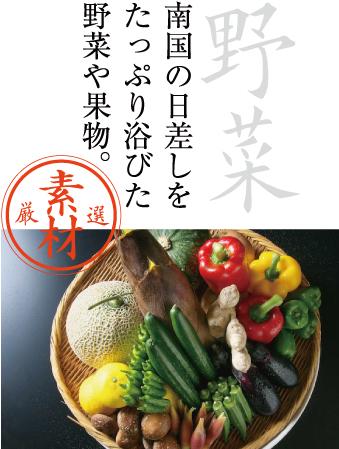 厳選素材 野菜